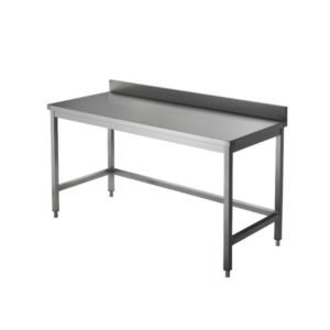 Tables inox gamme CHR (adossée)