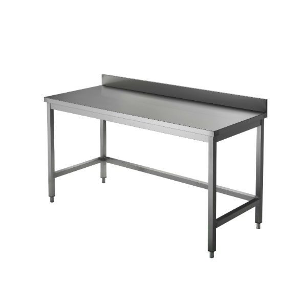 Tables inox gamme CHR (adossée)