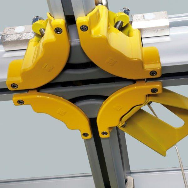 Rail boucherie en aluminium IM09
