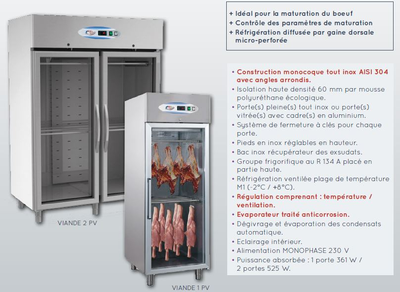 armoire-maturation-viande-description