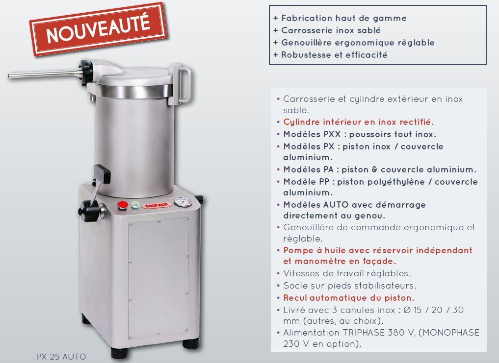 poussoir-hydraulique description